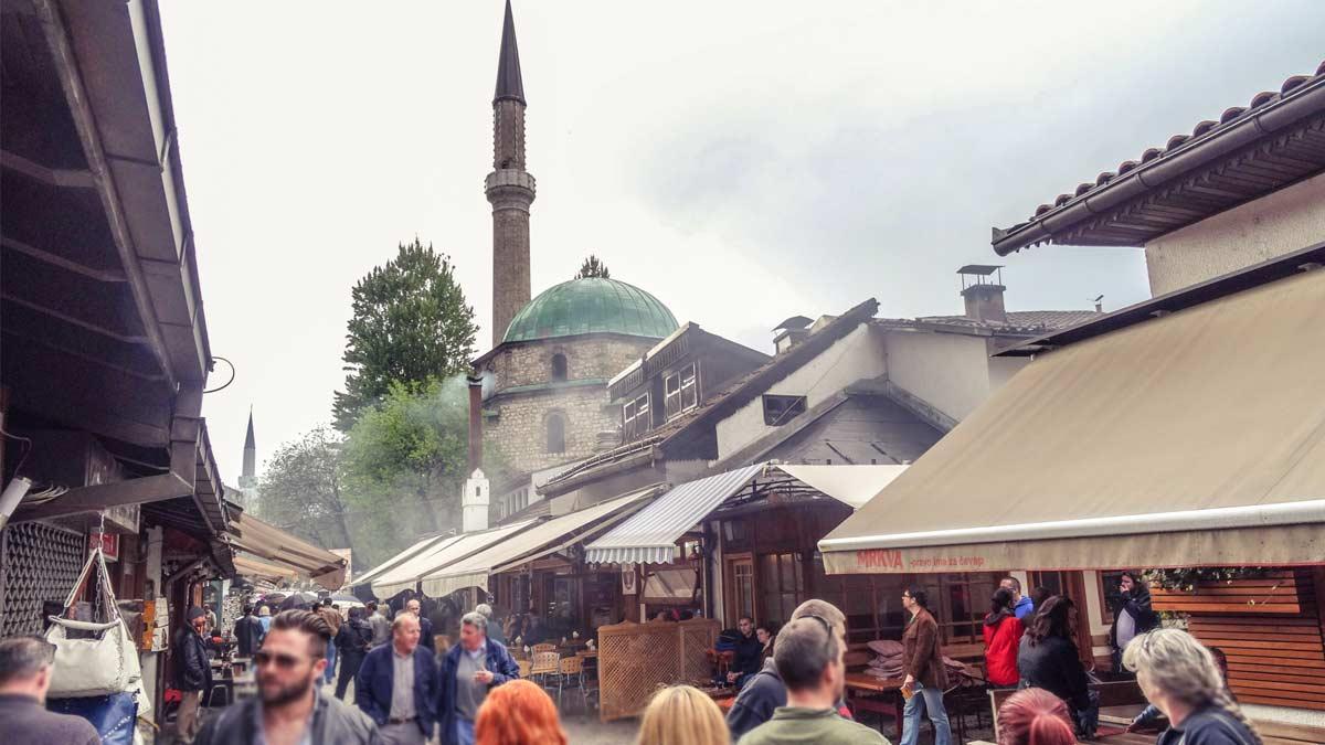 Sarajevo Bascarsija Bosnia